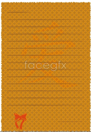 Fine stationery background Vector