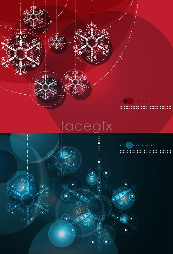 Gorgeous ball background Vector