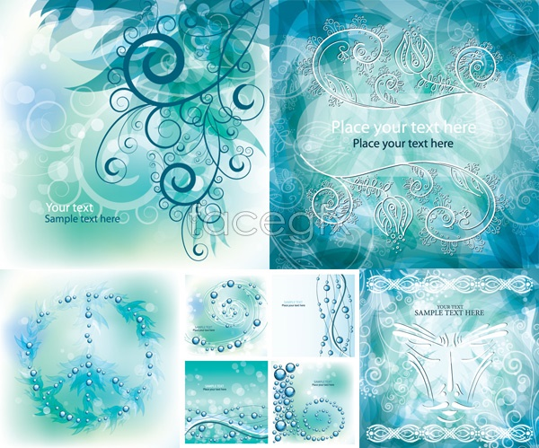 Gorgeous pattern vector background
