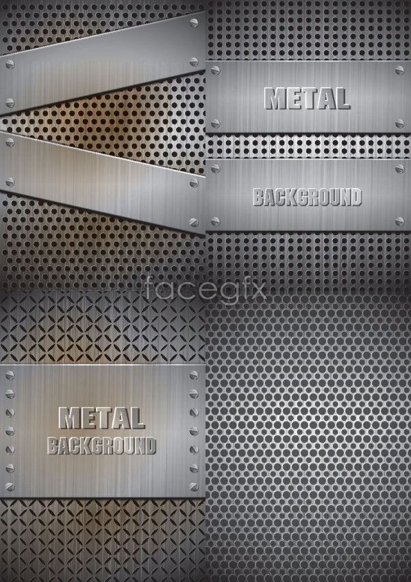 Real steel material Vector