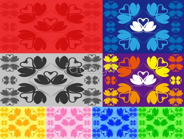 Swan graphics vector