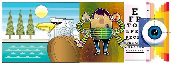 3 vector illustration