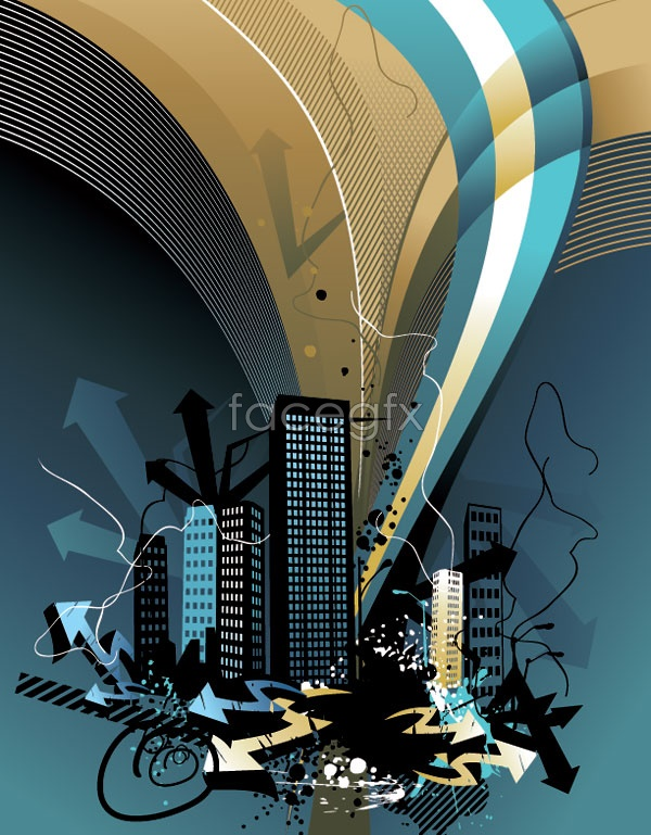 Architectural series vector-12