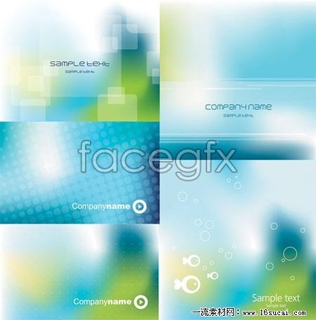 Blue fantasy background vector