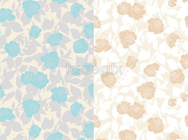 Elegant roses background Vector