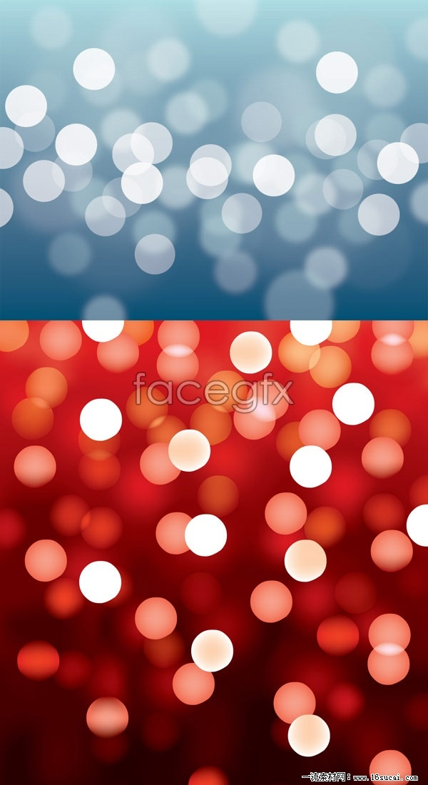 Fantasy lighting effects of background vector
