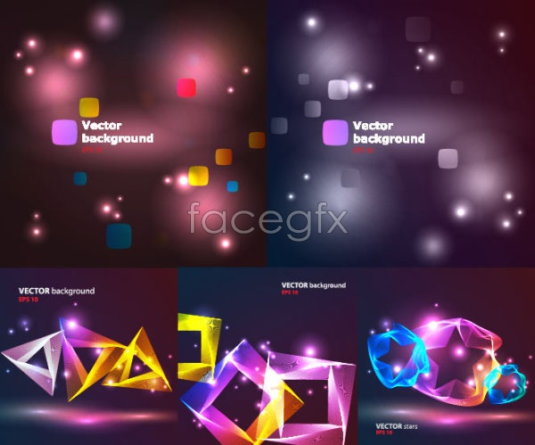 Light and bright background Vector