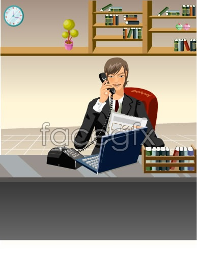 Office characters _53 Vector