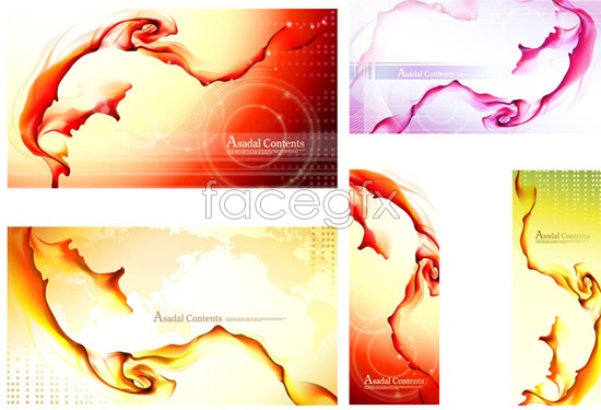 Rendering with water and ink art Vector