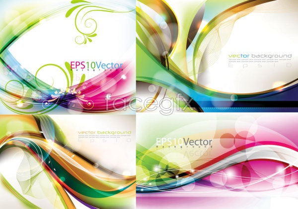 Symphony dynamic backgrounds Vector