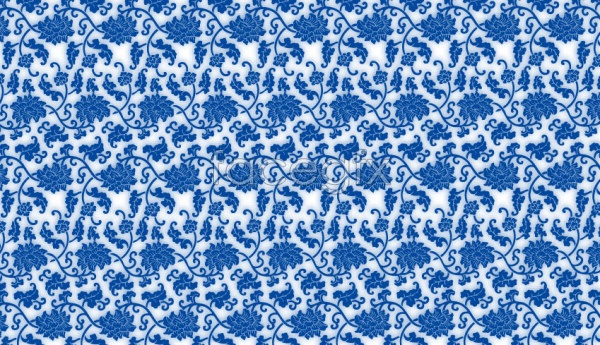 Vector blue and white pattern