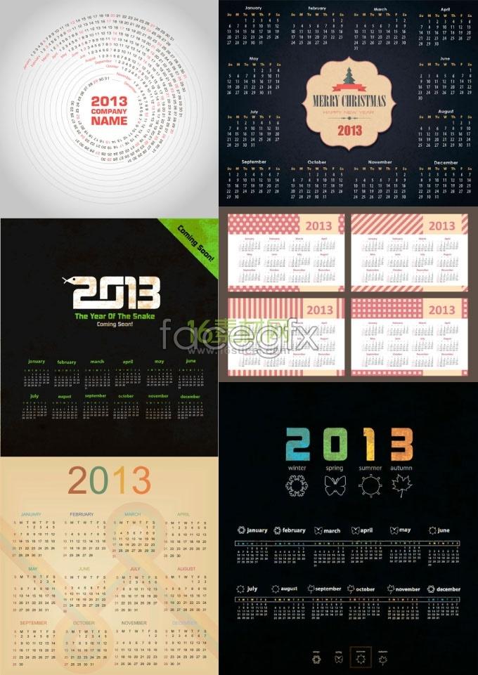 Creative calendar 2013 calendar 2