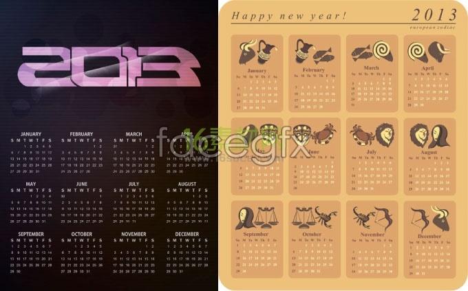 2013 horoscope calendar