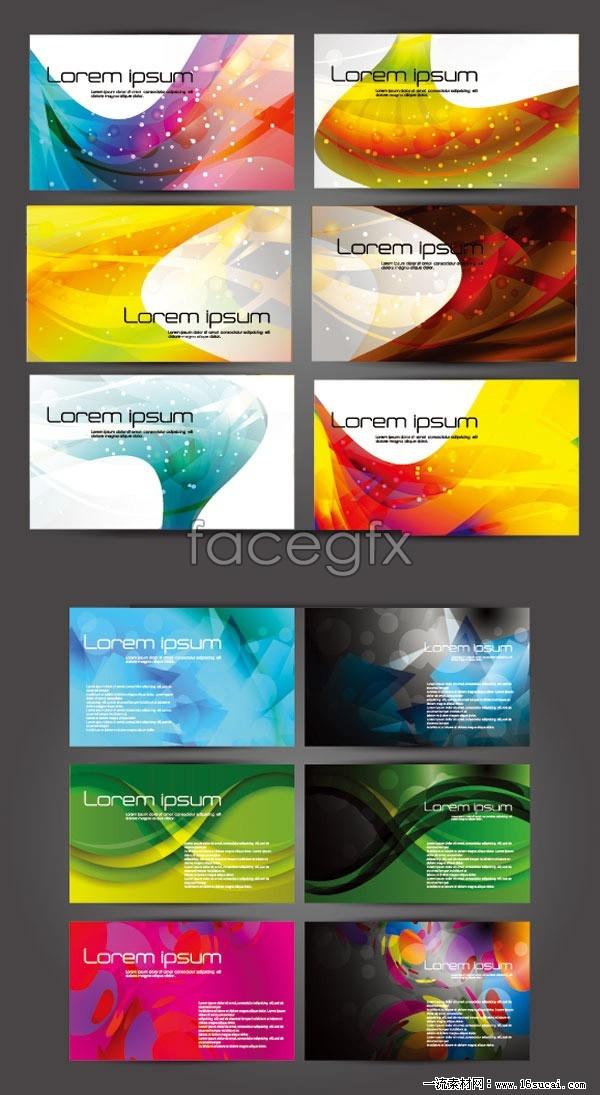 Magic card design template vector