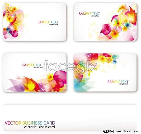 Magic card template vector