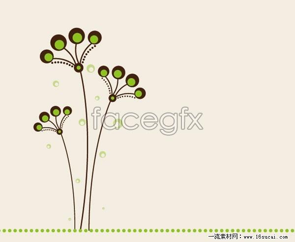 Sweet grass vector